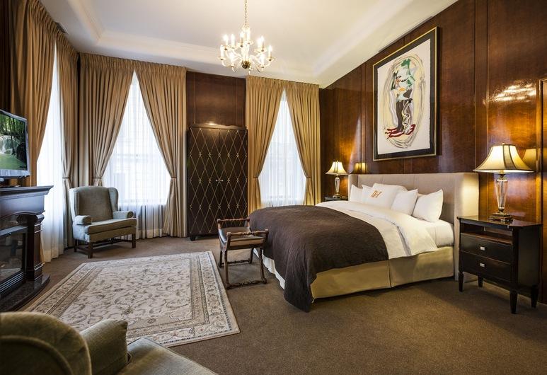 LHotel Montreal, Montreal, Svit - 1 kingsize-säng, Gästrum