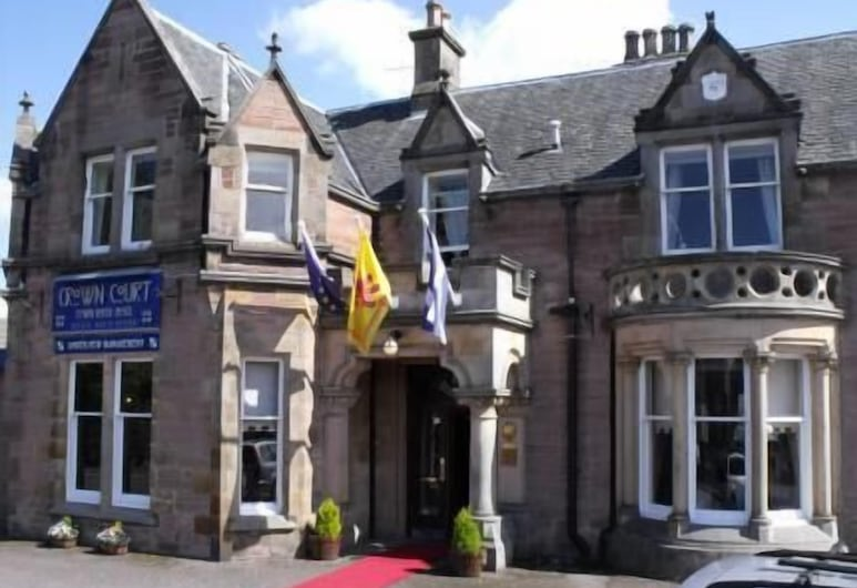 Crown Court Townhouse Hotel, Inverness, Voorkant hotel