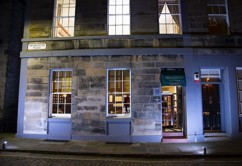 The Broughton City Centre Hotel, Edinburgh, Hotel Front