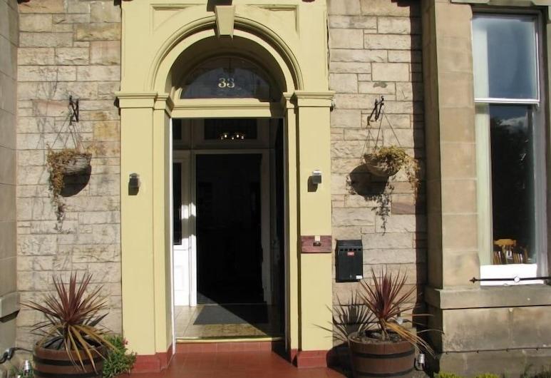 Northumberland Hotel, Édimbourg, Entrée de l'hôtel