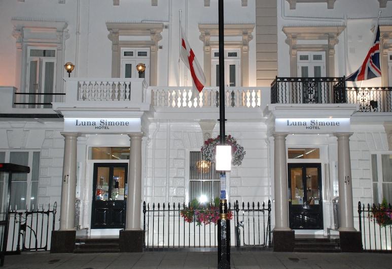 Luna-Simone Hotel, London, Hotelfassade