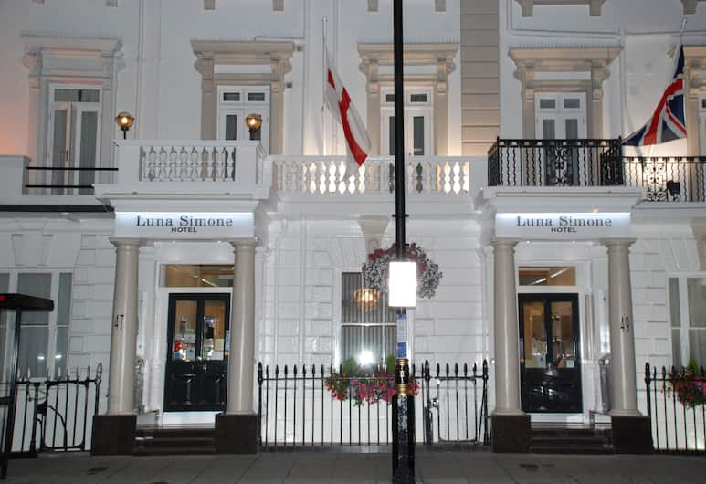 Luna-Simone Hotel, Londýn, Pohľad na hotel