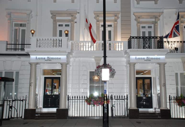 Luna-Simone Hotel, London, Hotel Front