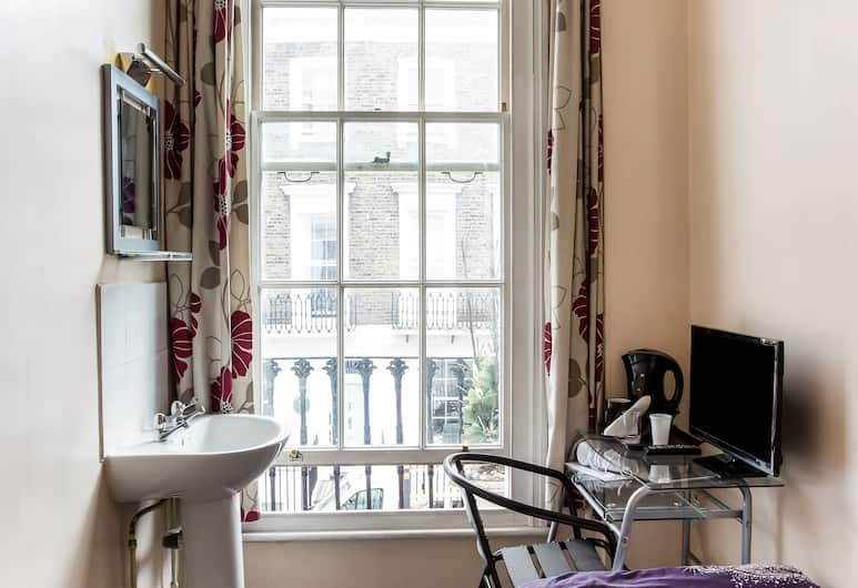 Enrico Hotel, Londres, Chambre Simple Standard, 1 lit une place (Shared), Chambre