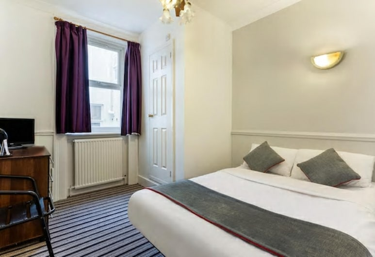 Enrico Hotel, London, Standard Double Room, 1 Double Bed, Guest Room