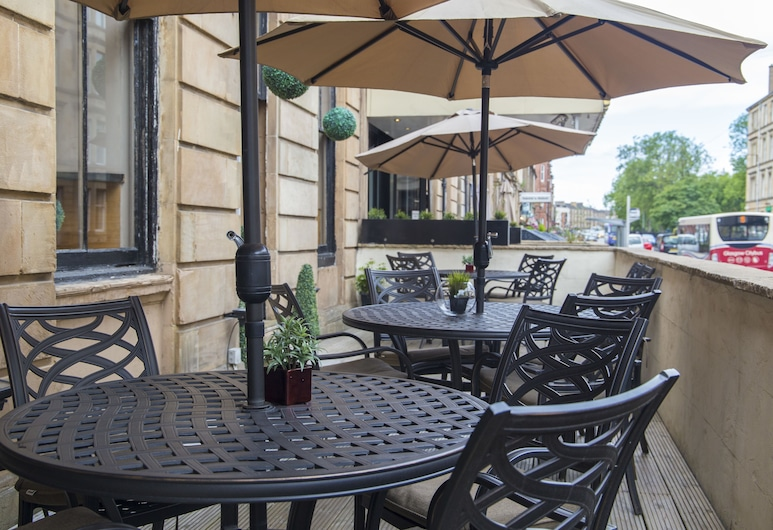 Devoncove Hotel, Glasgow, Outdoor Dining