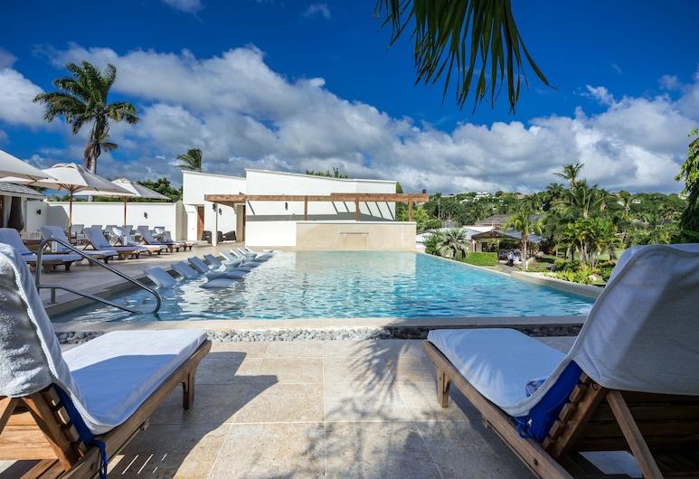 Calabash Luxury Boutique Hotel, St. George's, Piscina con borde infinito