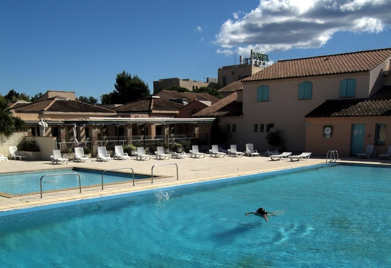 Hôtel Club Les Albères, Argeles-sur-Mer, Utomhuspool
