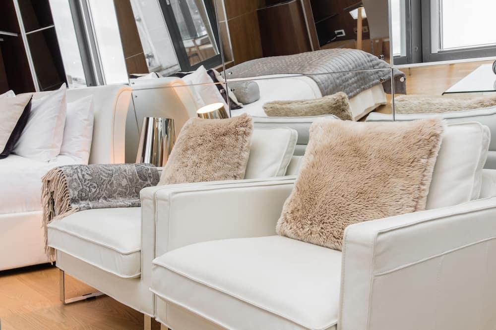 行政頂層客房, 1 張標準雙人床, 廚房 - 客廳