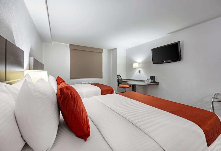 Comfort Inn Queretaro, Querétaro, Habitación estándar, 2 camas dobles, no fumadores, Habitación