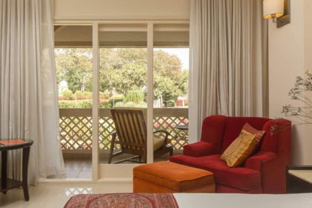 Izba typu Premium, 1 dvojlôžko, výhľad na bazén (Indulgence) - Balkón