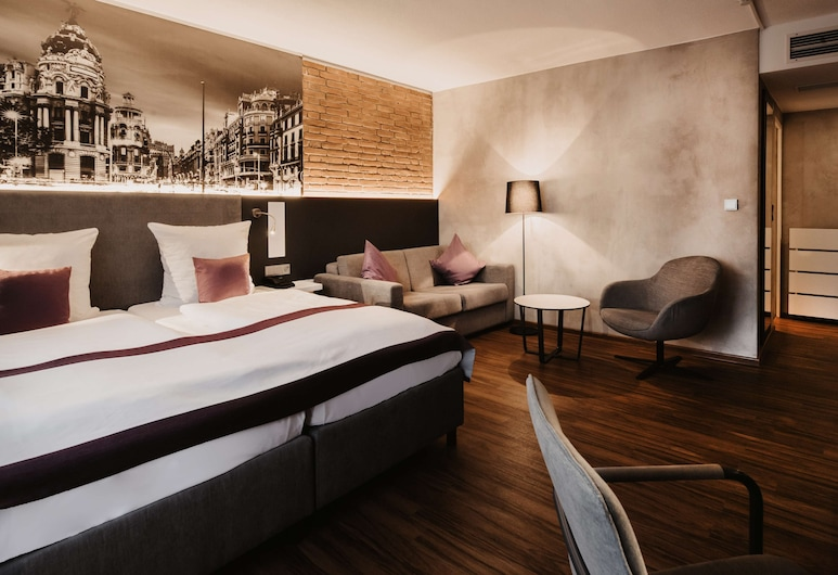 Tulip Inn Ludwigshafen City, Ludwigshafen, Junior Suite, Multiple Beds, Guest Room