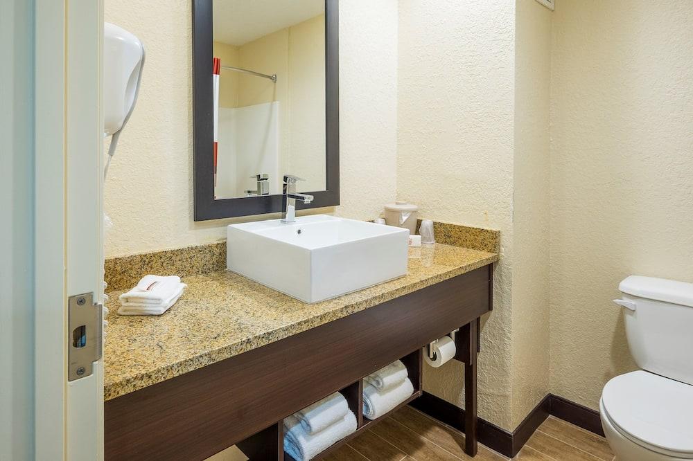 Apartmán, 1 extra veľké dvojlôžko (Smoke Free) - Kúpeľňa