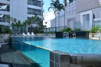 싱가포르의 페닌슐라 엑셀시어 호텔 사진