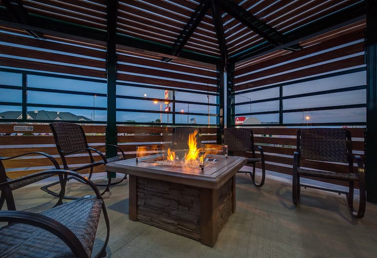 Boothill Inn And Suites, Billings, Terraza o patio