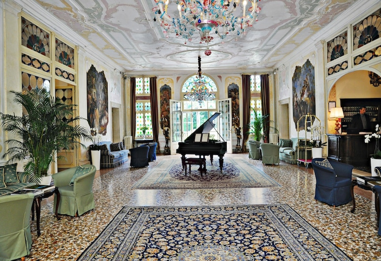 Hotel Villa Condulmer, Mogliano Veneto, Poczekalnia w holu