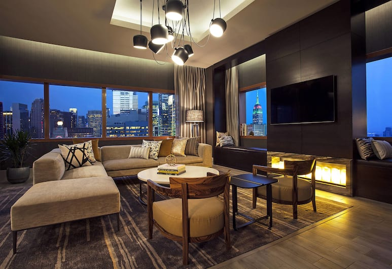 The Westin New York at Times Square, New York, Chambre