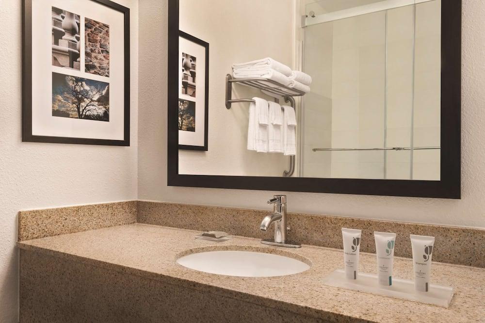 Štúdiový apartmán typu Premium, 1 extra veľké dvojlôžko, nefajčiarska izba - Kúpeľňa