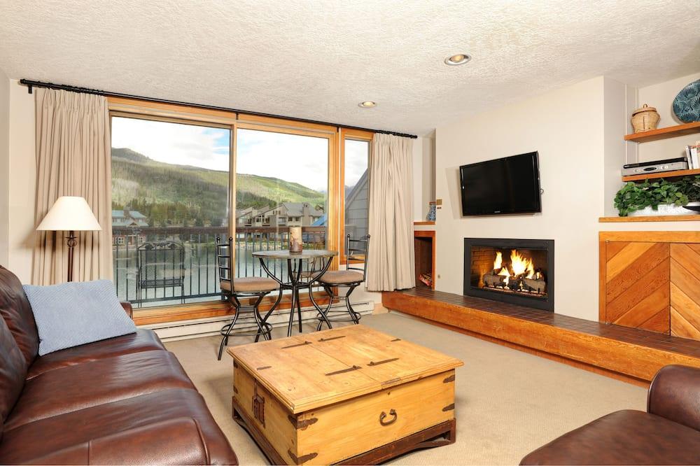 公寓客房, 1 間臥室 (Lakeside Village) - 客廳