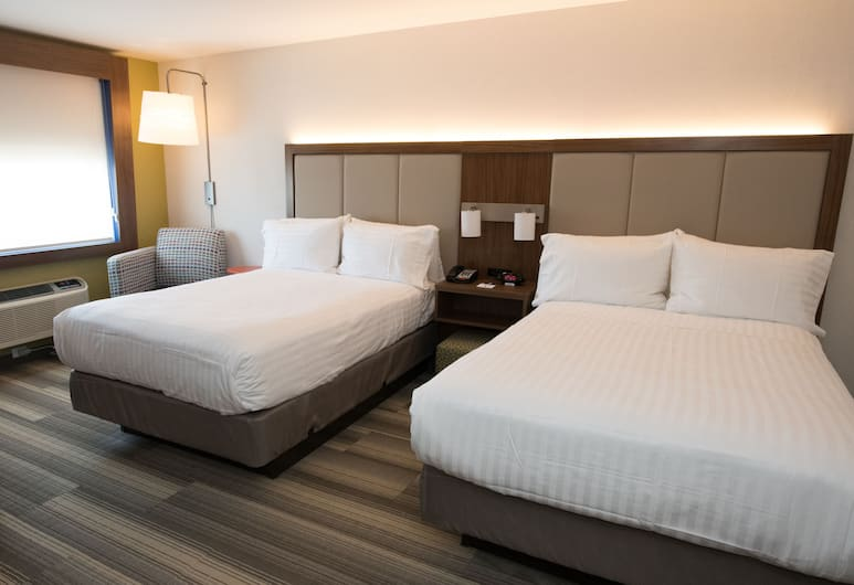 Holiday Inn Express Laguardia Airport, Flushing, Room, 2 Double Beds, Non Smoking, Guest Room