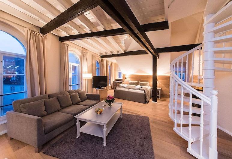 飯店古典城市線 TOP 飯店, 呂貝克, 套房, 2 張標準雙人床 (Guenter Grass), 客房