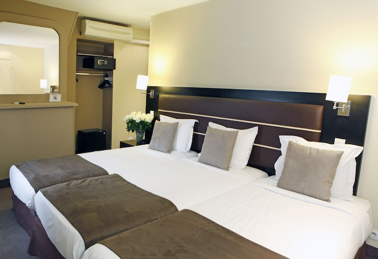 슈어 호텔 바이 베스트 웨스턴 파리 가르 뒤 노르, 파리, 트리플룸, 객실