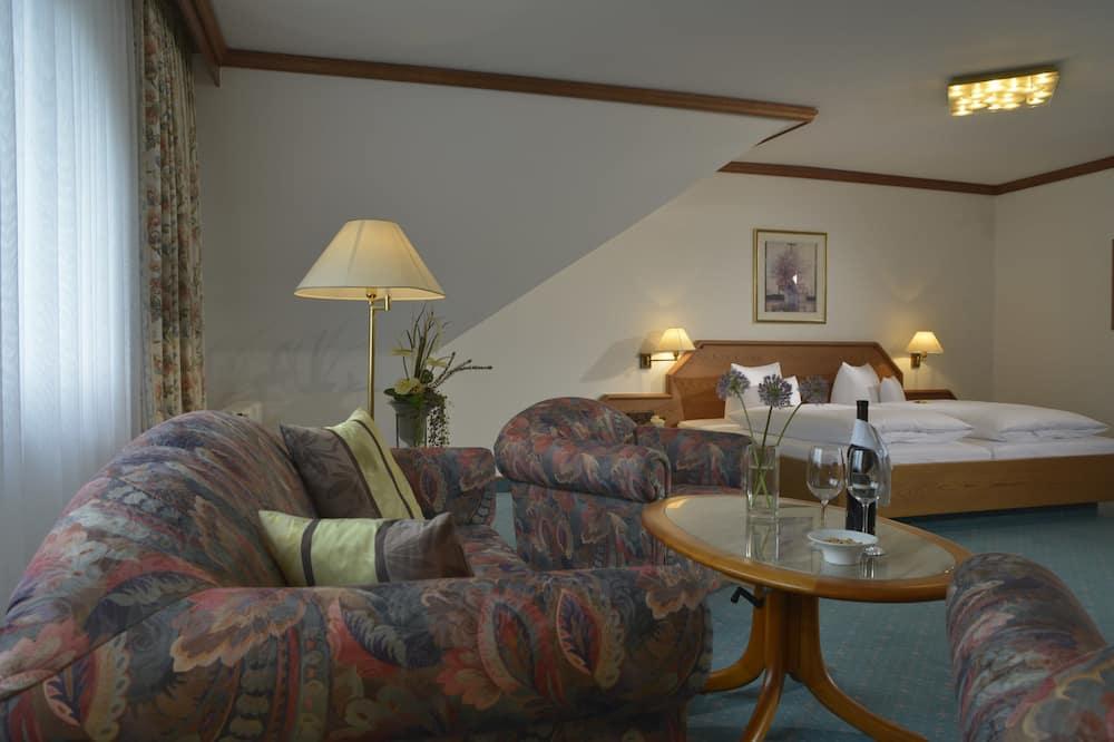 غرفة سوبيريور مزدوجة - منطقة المعيشة