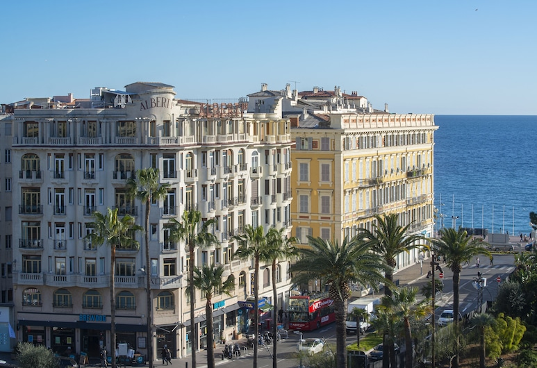 Albert 1'er Hotel Nice, France, Nizza, Hotelfassade