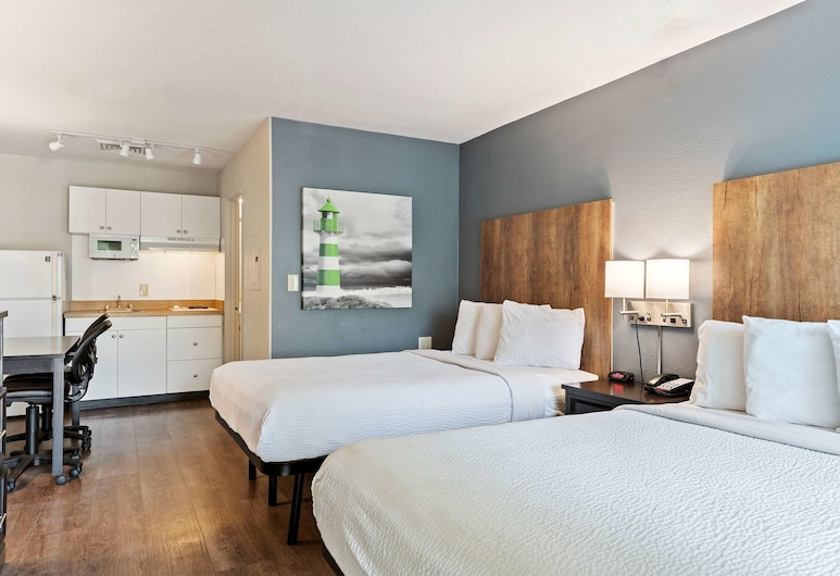 Extended Stay America - Charlotte - Airport, Charlotte, Studio, 2 Double Beds, Non Smoking, Guest Room