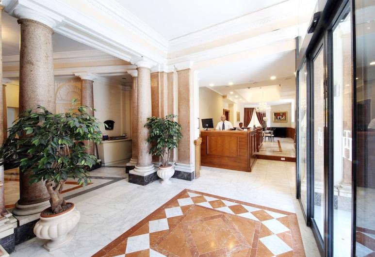 Traiano Hotel, Řím, Recepce