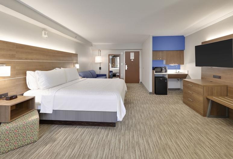 Holiday Inn Express & Suites Irving Conv Ctr - Las Colinas, Irving, Lakosztály, 1 king (extra méretű) franciaágy, nemdohányzó, Vendégszoba