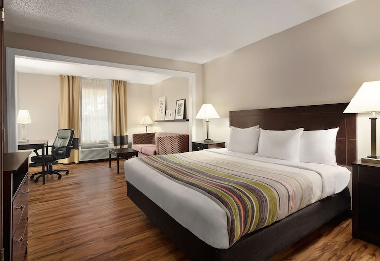 Country Inn & Suites by Radisson, Birmingham-Hoover, AL, Birmingham, Studio Suite, 1 King Bed, Non Smoking, Guest Room