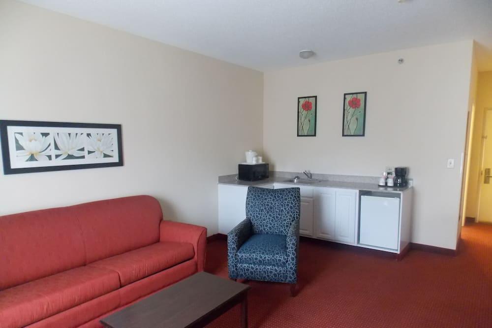 Suite estudio, 1 cama Queen size, para no fumadores - Sala de estar