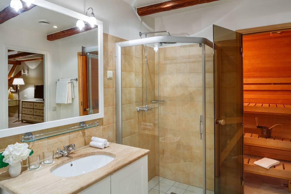 總統套房 - 浴室