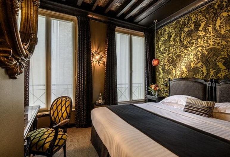 Hotel Les Dames du Panthéon, Париж, Двухместный номер «Классик» с 1 двуспальной кроватью, Номер