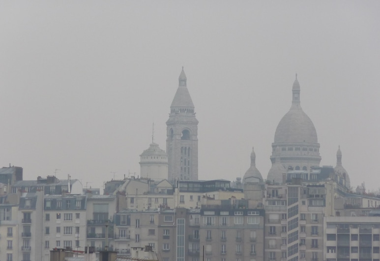 Hôtel Ambassadeur, Paryż, Taras na dachu