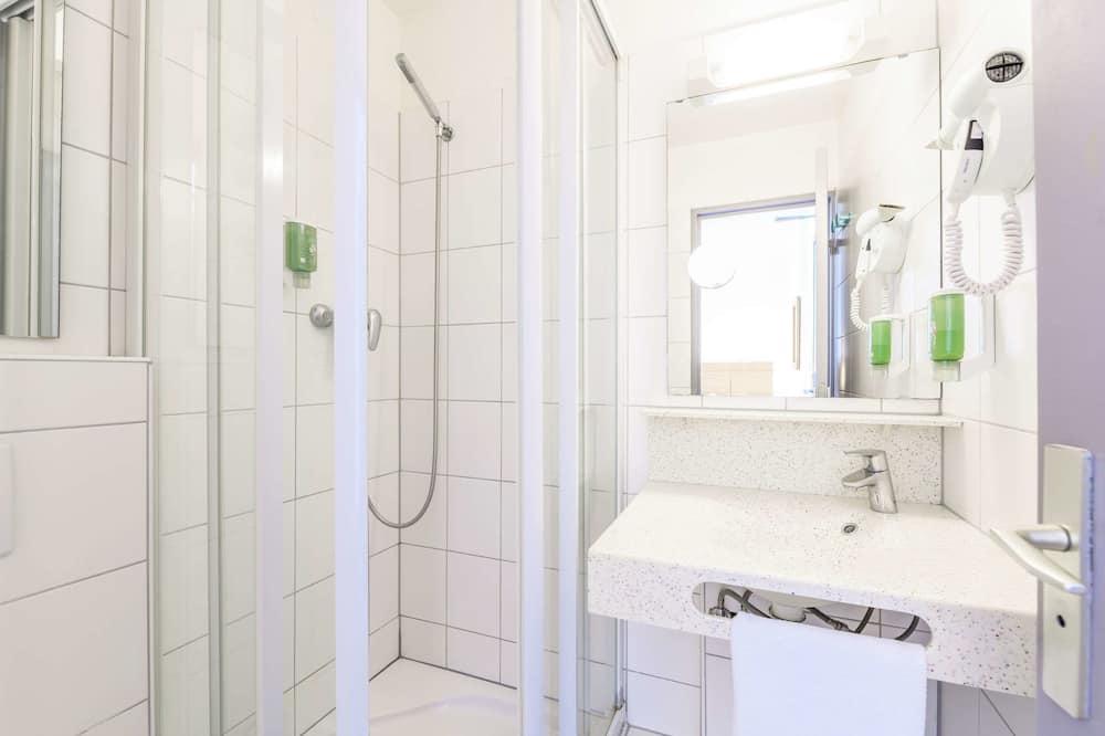 Standard-Zweibettzimmer, 2Einzelbetten, Nichtraucher - Badezimmer
