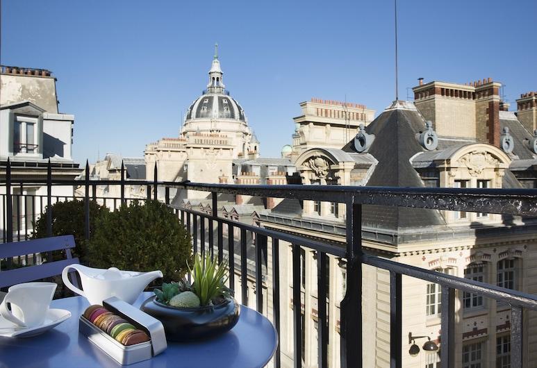 Grand Hotel Saint Michel, Paris, Deluxe Room Panoramic, Gjesterom