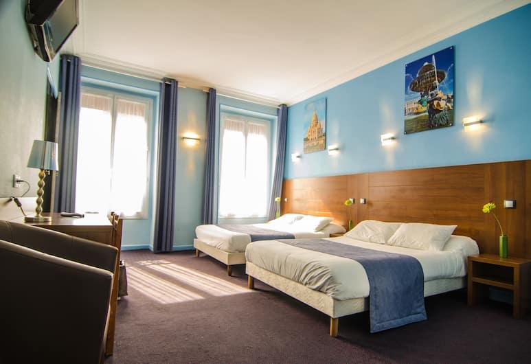 Hotel Paris Bruxelles, Paris, Quadruple Room, Guest Room