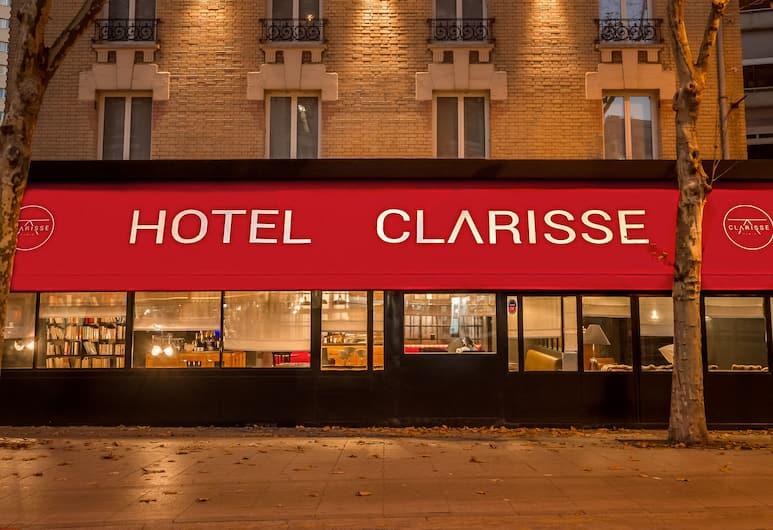 호텔 클라리스, 파리, 호텔 정면 - 저녁/밤