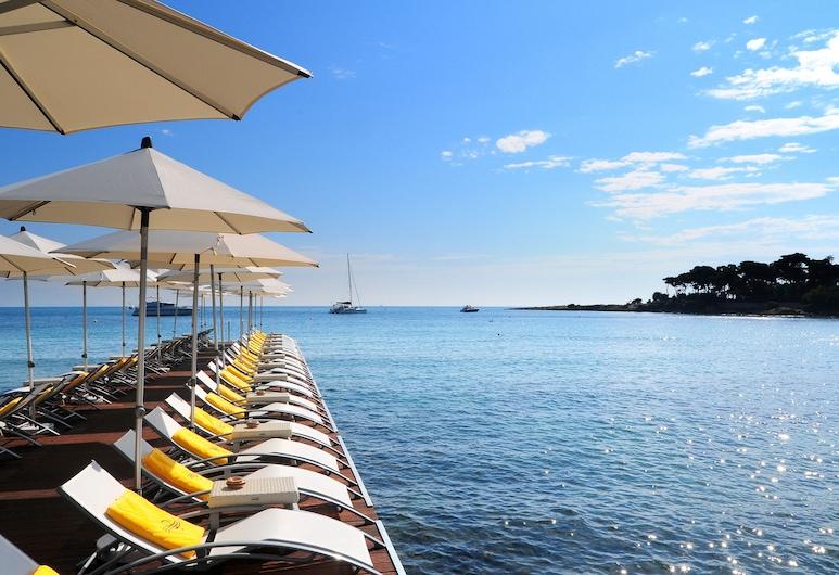 Hôtel Impérial Garoupe, Antibes, Beach