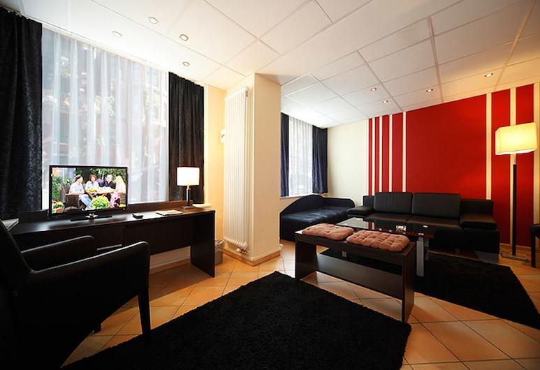Hotel Hansehof, Hamburg, Apartemen, Kamar Tamu