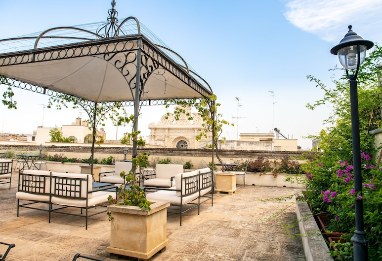 Patria Palace Hotel Lecce, לצ'ה, מרפסת/פטיו