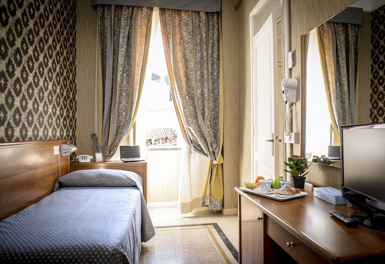 Hotel Emmaus, Rome, Single Room, Guest Room