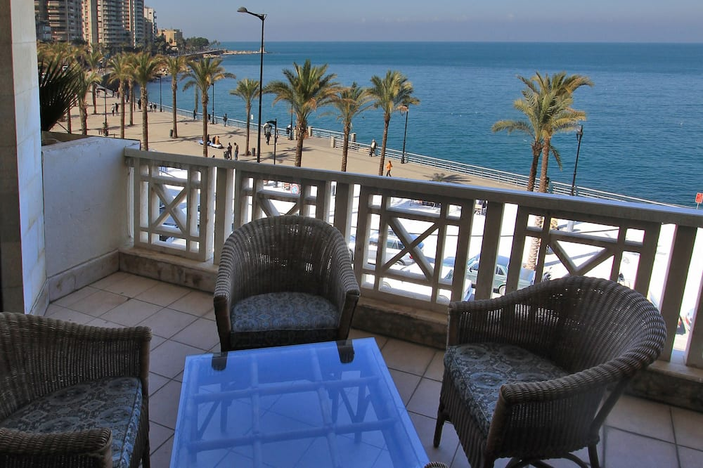 Presidential Suite, Smoking, Sea View - Balcony