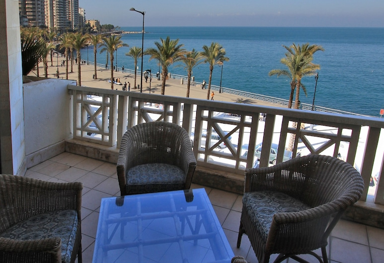 The Bayview Hotel, Beirut, Presidential Suite, Smoking, Sea View, Balcony