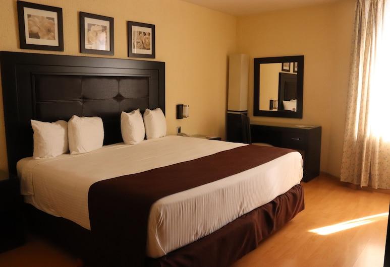 拉斯托雷斯豪生廣場酒店, 瓜達拉哈拉, 標準客房, 1 張特大雙人床, 客房