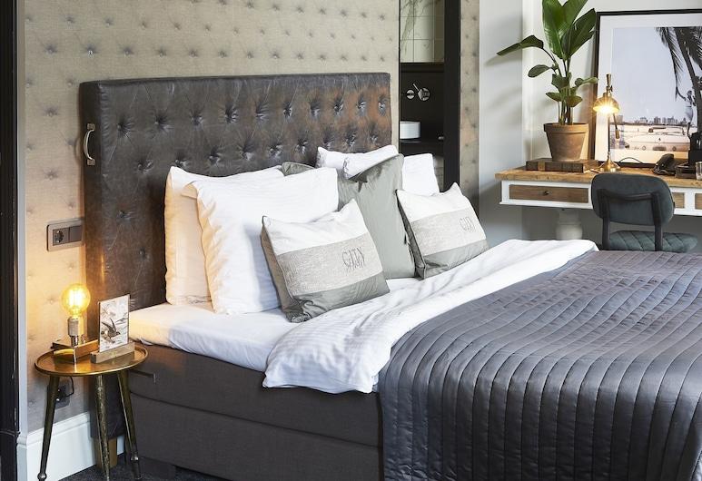 Hotel Piet Hein, Amsterdam, Apartmá s ložnicí a obývacím koutem, dvojlůžko (180 cm), Pokoj