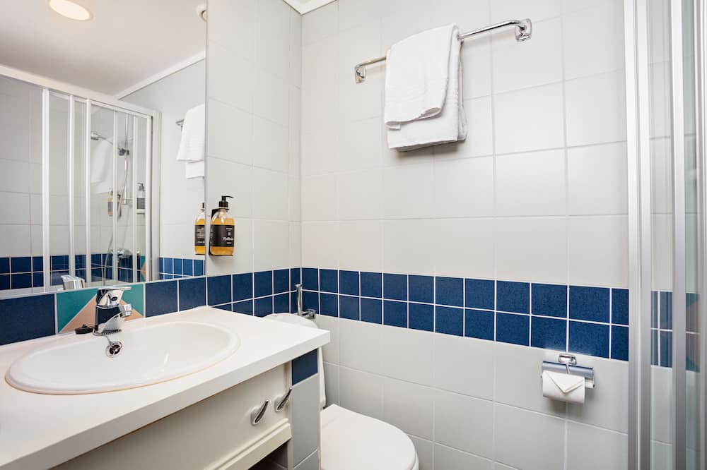 Apartmá s panoramatickým výhledem - Koupelna