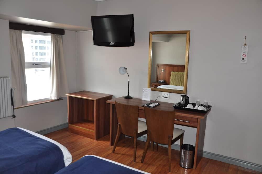 Standard-Zweibettzimmer, 2Einzelbetten - Wohnbereich